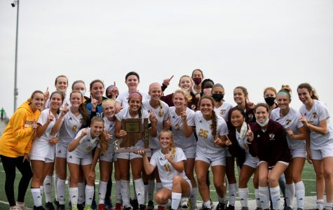 The CHS Girls Soccer team won the sectional championship this weekend, upsetting Valparaiso 2-0.