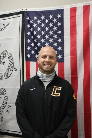 Mr. Drew Botel, CHS Social Studies Teacher