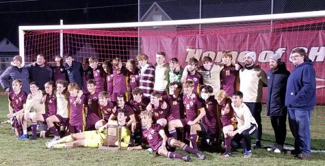 The CHS Boys Soccer team won their second Regional Title in three years on Saturday, October 17, 2020.