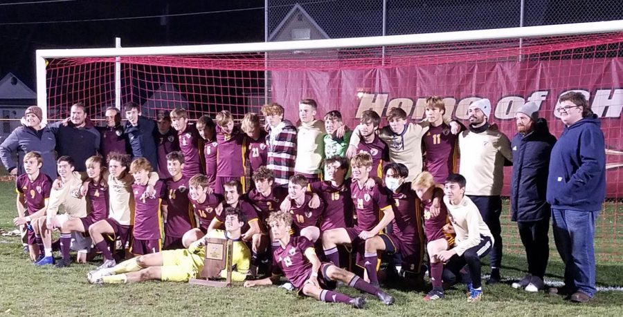 The+CHS+Boys+Soccer+team+won+their+second+Regional+Title+in+three+years+on+Saturday%2C+October+17%2C+2020.