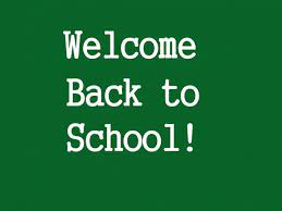 Welcome Back CHS Students!