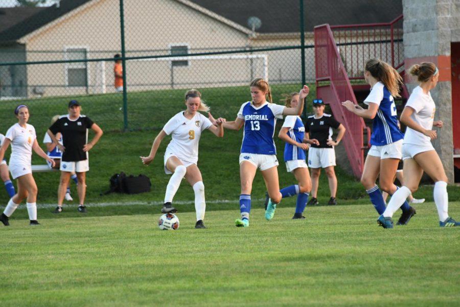 Lady Trojan Soccer Shines at St. Joe Tourney