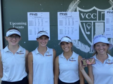 CHS Girls Golf Takes 3rd at Sectionals and Qualify to Regionals